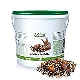 Aniforte Garden Premium Mangime per Scoiattolo 2kg per scoiattoli e scoiattoli di tenendo. Fodera Naturale per scoiattolo 2000g