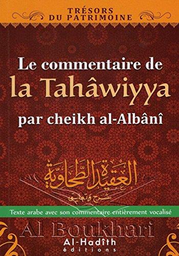 LE COMMENTAIRE DE LA TAHWIYYA par cheikh al-Albn