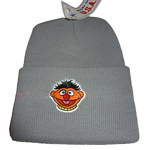 Wintermütze Ernie Grau (Elmo Kostüm Baby)