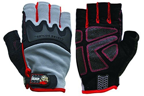 Preisvergleich Produktbild Big Time Products Grease Monkey Pro Fingerless Gloves (X-Large) by '47
