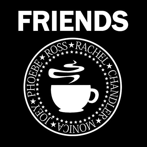 Friends Ramones Logo Women's Sweatshirt Black