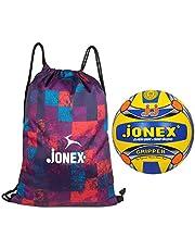 Jonex Gripper Volleyball and Reversible String Bag Combo @Hipkoo
