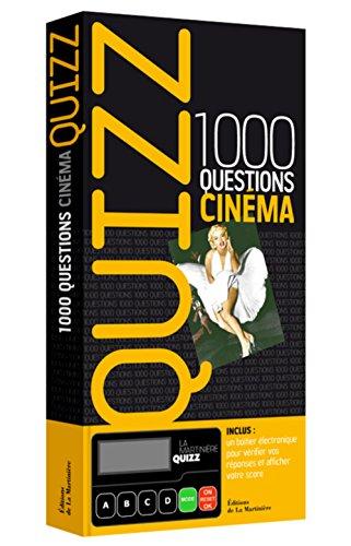 Quizz 1000 questions cinéma par Philippe Lécuyer