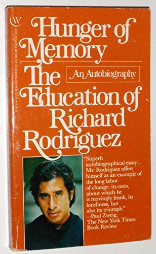 an analysis of the autobiography hunger of memory by richard rodriguez Hunger of memory by richard rodriguez what story inspired her to create the hunger games richard schickel biography richard schickel is the author.