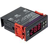 KKmoon Température 10A 12V Contrôleur numérique thermocouple -40 ℃ à 120 ℃ avec la fonction de protection du capteur de retard