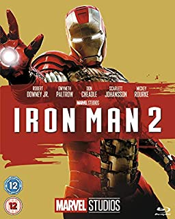 Iron Man 2 [Blu-ray] [Region Free] (B00F3TCFCE) | Amazon price tracker / tracking, Amazon price history charts, Amazon price watches, Amazon price drop alerts