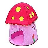MagiDeal Tragbar & Faltbar Pop-up Pilz Spielhaus Spielzelt Kinderzelt Spielzeug für Mädchen und Jungen