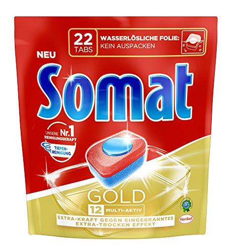 Somat Tabs 12 Gold, 7er Pack (7 x 22 Tabs)