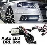 TFL DRL Tagfahrlicht Modul, Automatisches Steuermodul, 50% Dimmbar Steuergerät für LED Tagfahrlicht, Relais / Abstufung / ON OFF / Blinker / Coming Home