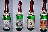torten.pictures Flaschenetikett Zum Geburtstag mit Ihren Fotos *Perfekte Geschenkidee*