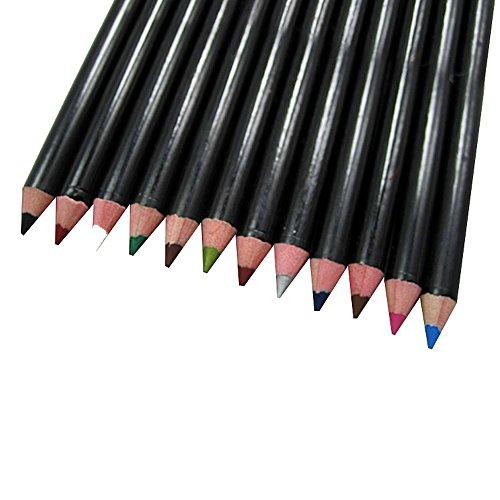 Contever® Set 12 colores Prueba Agua Lápices Ojos