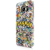All Pokemons Logo Collage Hard Snap-On Protective Case Cover For Samsung Galaxy S7 (Not Edge)