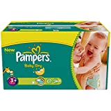 340 Couches Pampers Baby Dry Taille 3 + Midi + (5-10 kg)