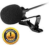#7: Raptas E_57000455 Imported 3.5mm Clip On Mini Lapel Lavalier Microphone For -57000455MG