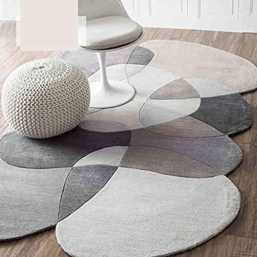FOO Tapis Grand tapis antidérapant géométrique, chambre à coucher -8mm de salon de décor de tapis nordique moderne Tapis contemporain, tapis et tapis de chambre à