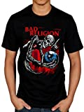Official Bad Religion Skull T-Shirt Cross Buster Suffer No Control True North