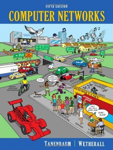 Computer Networks (5th Edition) by Tanenbaum, Andrew S., Wetherall, David J. (2010) Hardcover