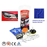 sweetlife Renovateur Phare Voiture Kit, Rénovation Optique de Phare Kit de Polissage Lustreur...