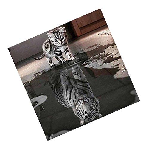 MagiDeal BricolajeDIY Pintura de Diamante 5D Borda de Puntada de Cruz con Patrón de Gato Siamés Decoración de Hogar Pared - #7