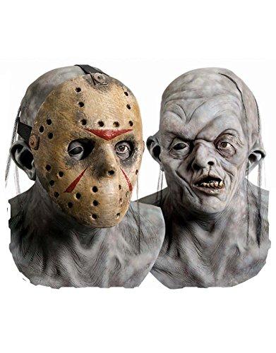 Generique - Maske Freddy Gegen Jason TM für Erwachsene