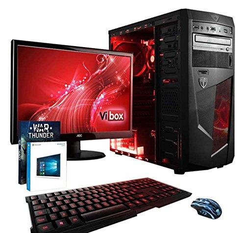Vibox VBX-PC-6428 - Ordenador de sobremesa (AMD A Series Quad Core A8, 8 GB de RAM, 1 TB, AMD Radeon HD, Windows 10)