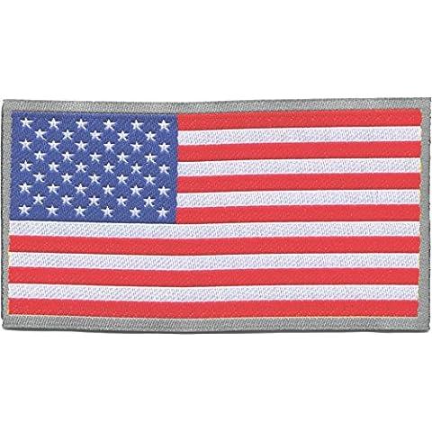 Parches Para la Ropa Parches Adhesivos Para Tejidos de Bandera de Estados Unidos