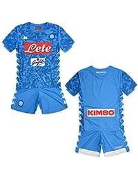 SSC Napoli Kit Gara Home 2018 2019 Bimbo 61324e9ddad4