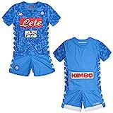 SSC Napoli Kit Gara Home 2018/2019 Bimbo, Azzurro, 8 anni