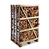 Premium Brennholz Buche kammergetrocknet 1,7 Raummeter 33cm Scheitlänge