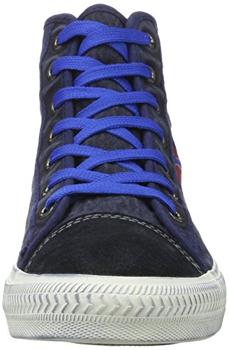 Nebulus  York, Chaussures en forme de bottines homme Bleu Marine