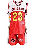 24brands - Boys Basketball Sports Baseball Shirt training jersey Team jersey colors Chicago Boston - 2942
