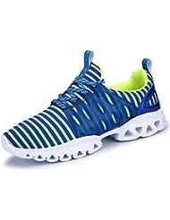 IIIIS-R Hombre Zapatillas de Senderismo Deportivas Aire Libre y Deportes Monta?a y Asfalto Zapatos para Correr Running Malla Transpirable Casuales