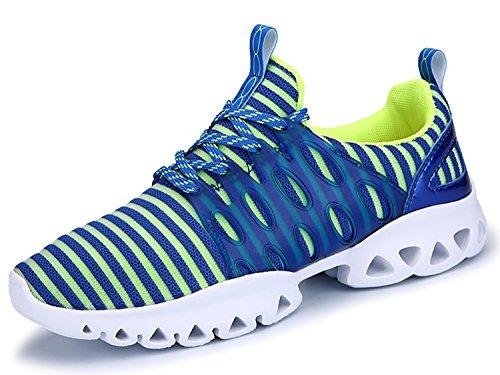 IIIIS-R Donna Scarpe da Ginnastica Corsa Sportive Running Sneakers Fitness Interior Casual all'Aperto blu turchese