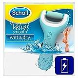 Scholl Velvet Smooth Pedi Pro Elektrischer Hornhautentferner, wiederaufladbar, Akku, Pedküre,...
