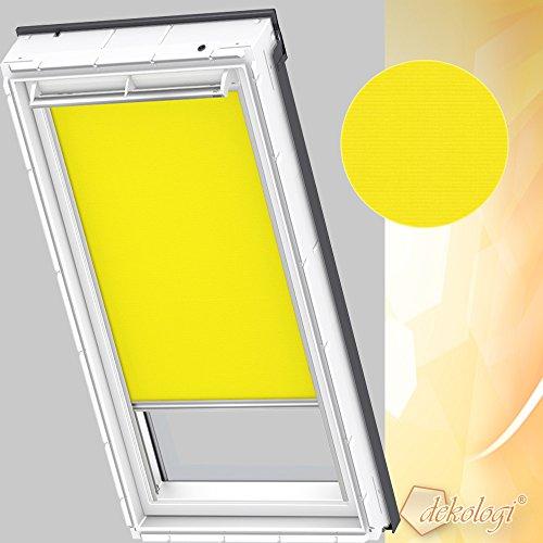 Preisvergleich Produktbild Orignal VELUX Sichtschutzrollo RFL Y33 4073S / Bedienart : Manuell / Farbe : Uni Gelb / Fenstergröße : Y33 / Fenstertypen : VU, VL, VKU _24593