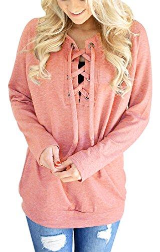 Elsa Steen - Sweat-shirt - Manches Longues - Femme Cuivre