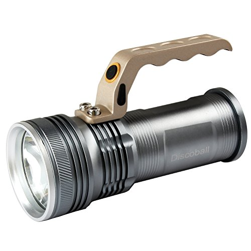 3000lm Rechargeable Handheld LED Flashlight led Torch with 18650 Battery Charger