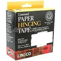 Lineco - Nastro carta per applicazioni artistiche, rotolo da 2,5 cm x 39,6 m