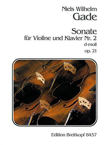 Sonate Nr. 2 d-moll op. 21 für Violine und Klavier - Breitkopf Urtext (EB 8457)
