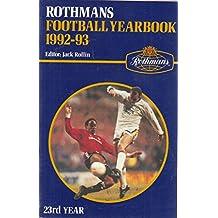 Rothman's Football Year Book 1992-93