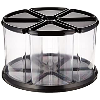 Deflecto Carousel Storage Tidy - Six Tubs
