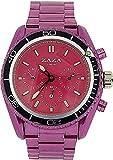 ZAZA London MMB234 purple - Reloj para mujeres, correa de metal color morado