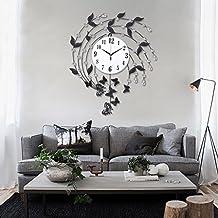 horloge murale pendule contemporaine. Black Bedroom Furniture Sets. Home Design Ideas