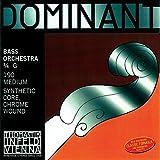 Dominant Strings 193S - Cuerda para contrabajo de cromo, 3/4