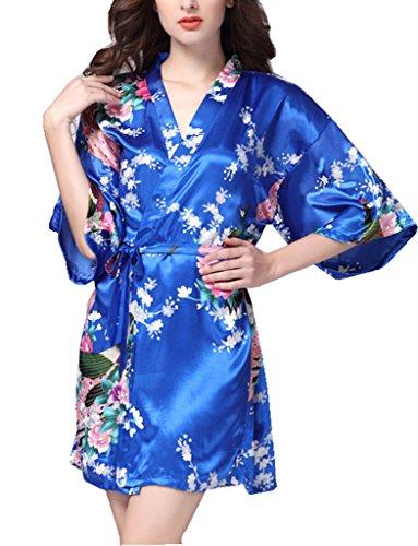 BELLOO - Vestaglia -  donna Royal Blue