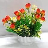 Ethnic Karigari Home Decor Incredible Designer Decorative Beautiful Indoor Flower Vase Small Size Red Roses For Office Desk Decoration For Drawing Room Corner Shleves | Hall | Living Area