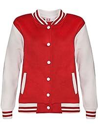 A2Z 4 Kids® Kinder Mädchen Jungen Baseball Jacke Varsity Stil Mode Einfach Schule JACKEN TOP Alter 2 3 4 5 6 7 8 9 10 11 12 13 Jahren