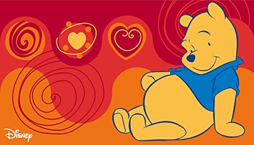 Kinder Teppich Kinderteppich mit Winnie the Pooh / Teppich / Kinder Teppich / Kinderspielteppich / Kinderteppich / Wandteppich / Modell Kinderteppich Disney Winnie the Puuh Bär / Dieser wunderschöne und Kinderteppich mit Winnie ist in der Größe 50 x 80 cm