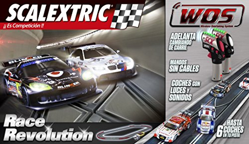 Scalextric WOS - Circuito Race Revolution (W10134S500)