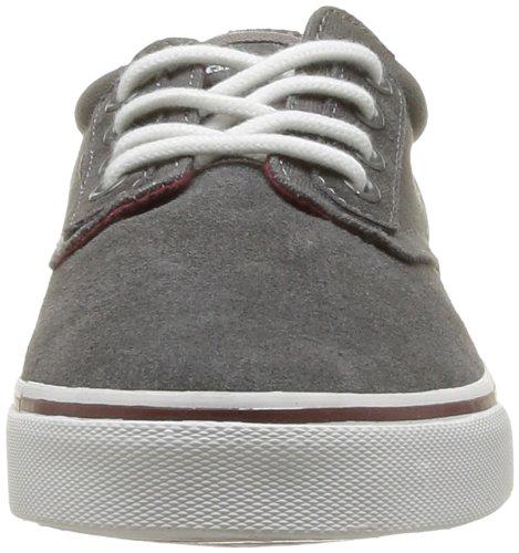KangaROOS Herren Dimitri Sneakers Grau (dk grey/burgundy 262)
